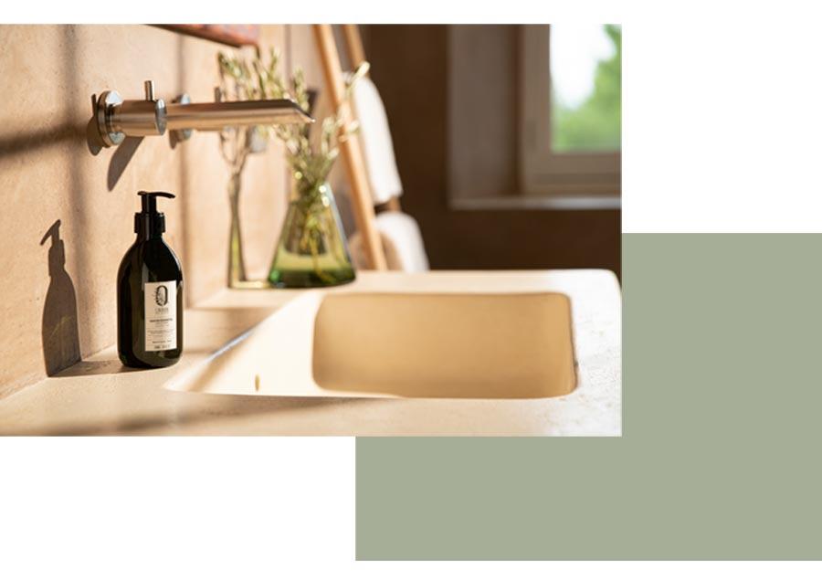 savon main liquide marque olivier de leos salle de bain