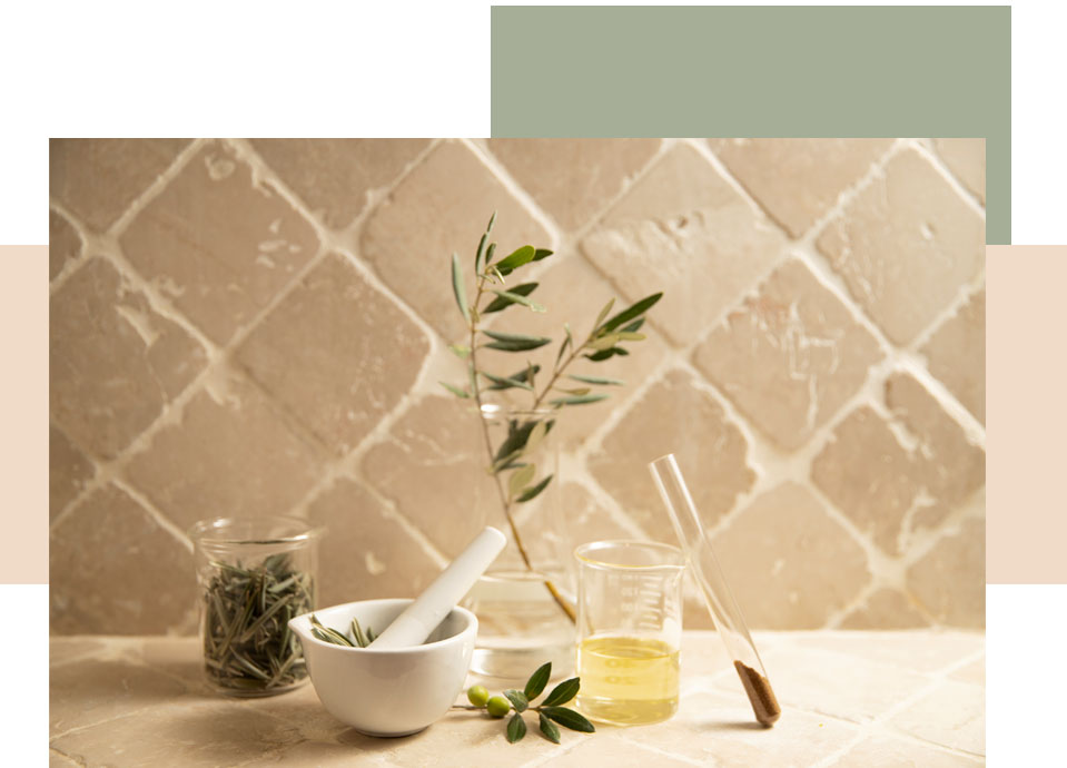 huile olive vierge extra provence et feuilles